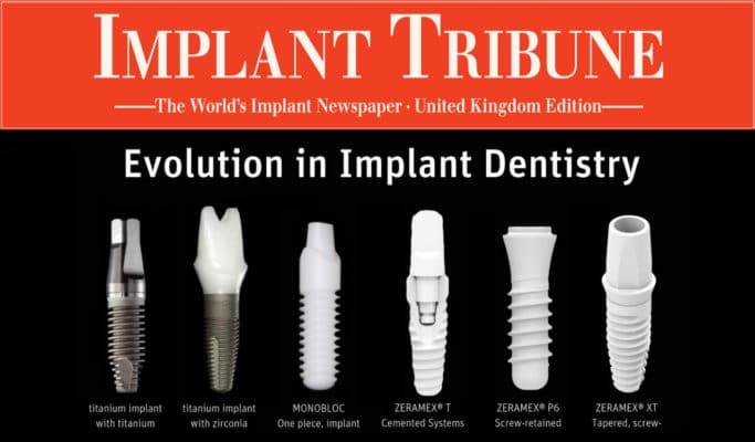 Implant Tribune - Evolution in Implant Dentistry