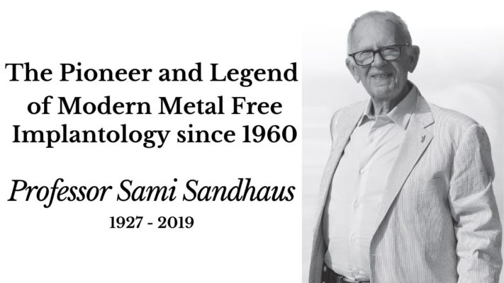 The Pioneer and Legend of Modern Metal Free Implantology