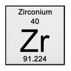 Zirconium In Periodic Tab